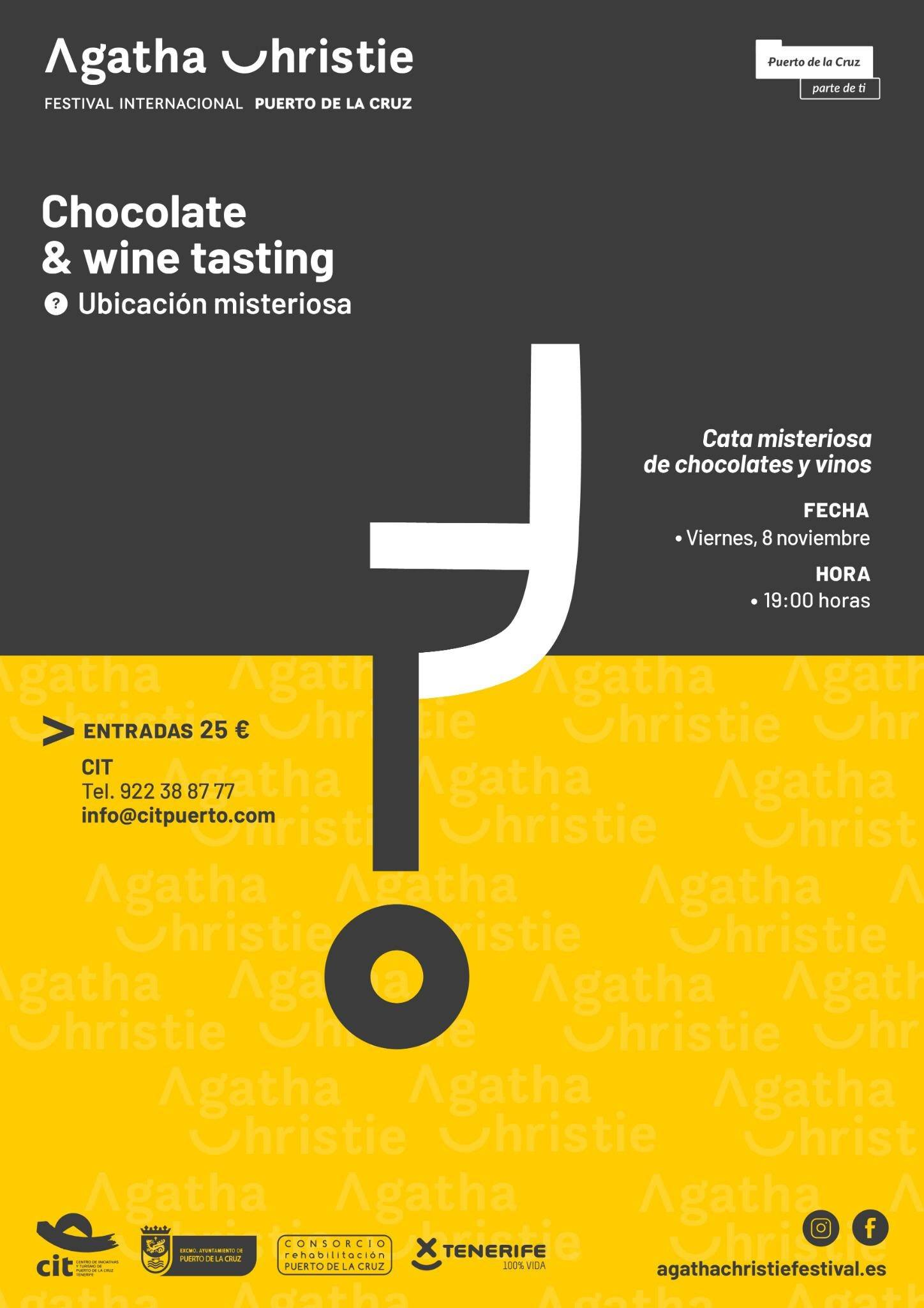 Mysterious Tasting of Chocolates and Wines