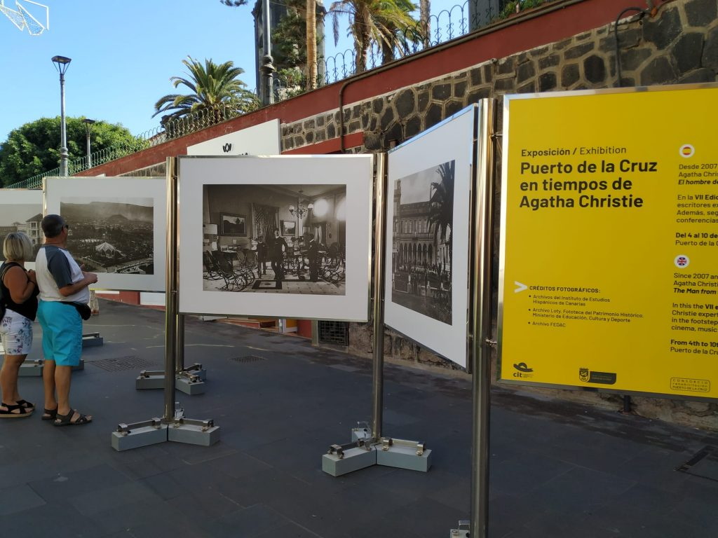 """Puerto de la Cruz in the time of Agatha Christie"" exhibition"
