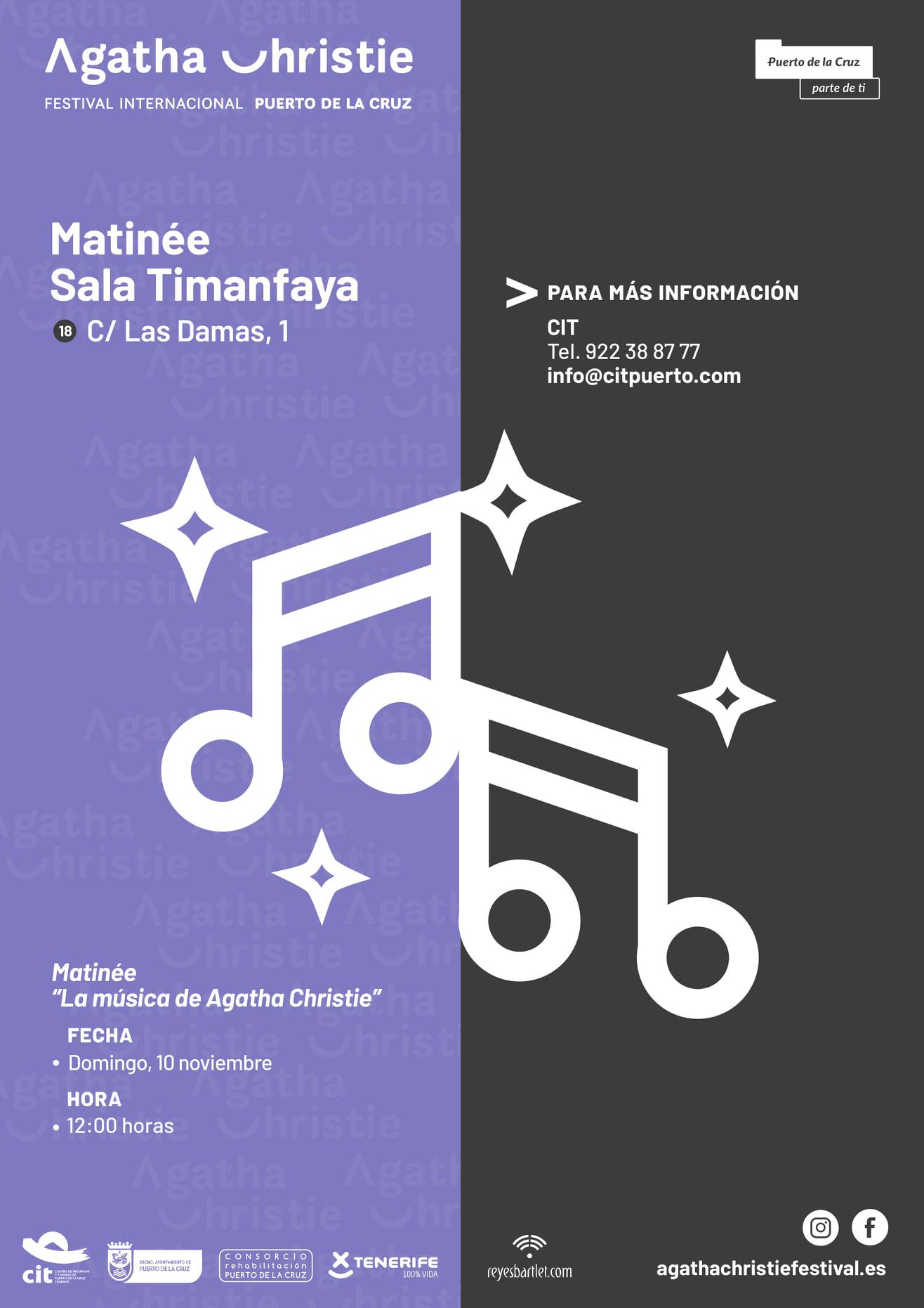 Matinée in Sala Timanfaya