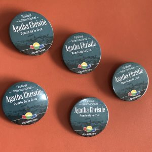 Broche Agatha Christie